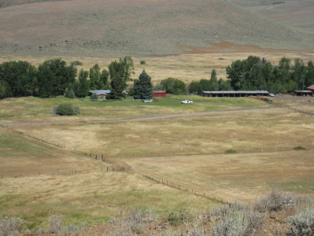 2011 Flat Top Ranch Conservation Easement: 3,040 acres