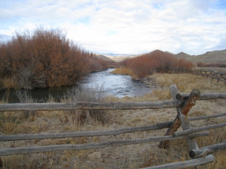 2012 Trout Creek Ranch Conservation Easement: 135 acres